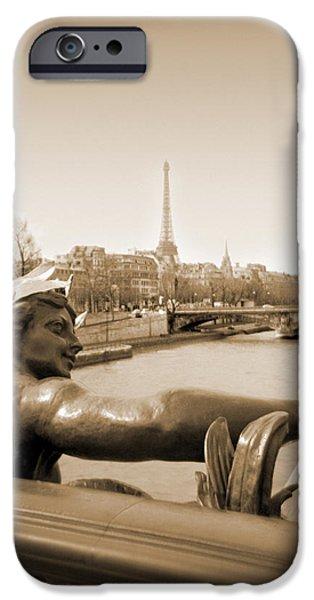 A Walk Through Paris 7 iPhone Case by Mike McGlothlen
