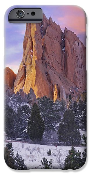 A Winter Morning iPhone Case by Tim Reaves
