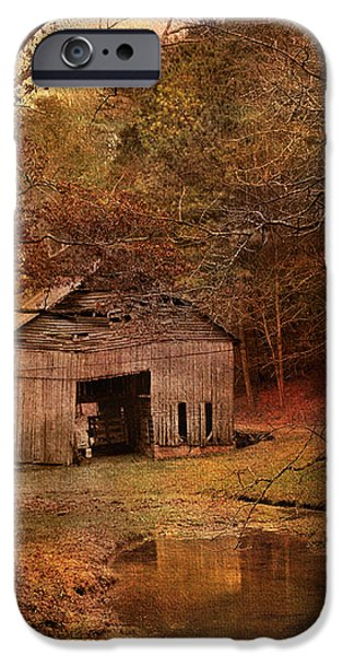 Abandoned Barn iPhone Case by Jai Johnson