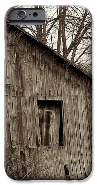 Abandoned Farmstead Facade iPhone Case by John Stephens