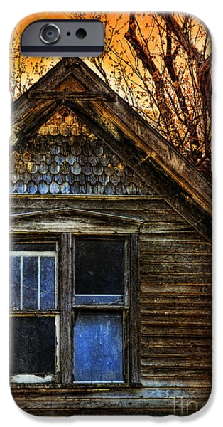Home Improvement iPhone Cases - Abandoned Old House iPhone Case by Jill Battaglia