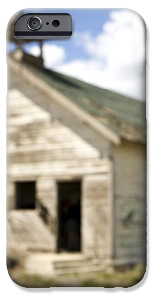 Abandoned Rural School House iPhone Case by Paul Edmondson