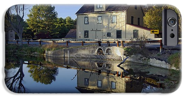 Nature Center Pond iPhone Cases - Abbotts Mill iPhone Case by Brian Wallace