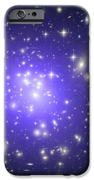Abell 1689 Galaxy Cluster, X-ray Image iPhone Case by Nasacxcstscimite-h Peng Et Al