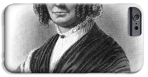 First Lady iPhone Cases - Abigail Fillmore (1798-1853) iPhone Case by Granger