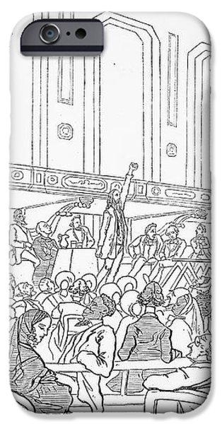 ABOLITION CARTOON, 1859 iPhone Case by Granger