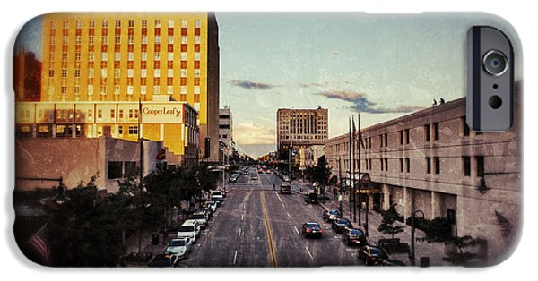 Appleton Photographs iPhone Cases - Above College Avenue iPhone Case by Shutter Happens Photography