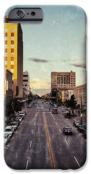 Above College Avenue iPhone Case by Shutter Happens Photography