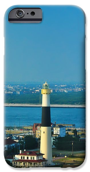 Absecon Lighthouse Atlantic City iPhone Case by Bill Cannon