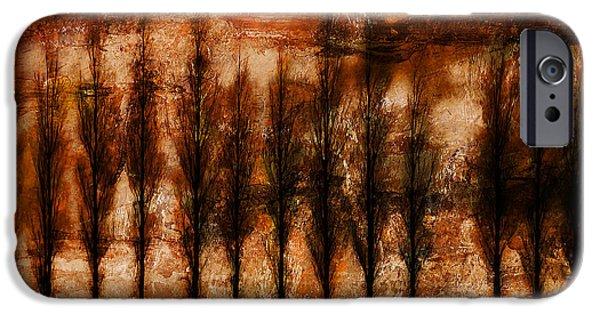 Epic Amazing Colors Landscape Digital Modern Still Life Trees Warm Natural Earth Organic Paint Photo Chic Decor Interior Design Brett Pfister Art Digital Art Iphone Cases Digital Art iPhone Cases - Absolution iPhone Case by Brett Pfister