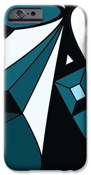 abstrac7-30-09-a iPhone Case by David Lane