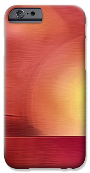 Abstract 11 iPhone Case by John Krakora