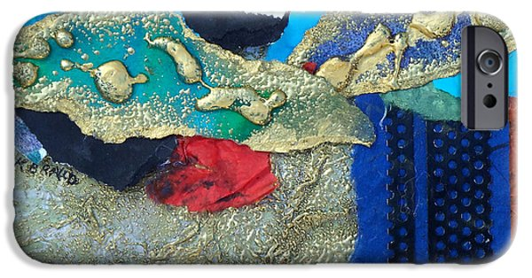 Multimedia Mixed Media iPhone Cases - Abstract 2011 No.2  iPhone Case by Kathy Braud
