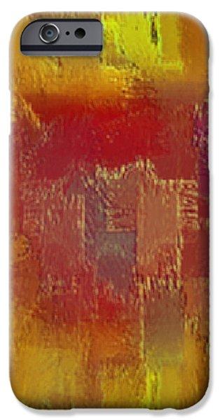 Abstract 258 iPhone Case by John Krakora