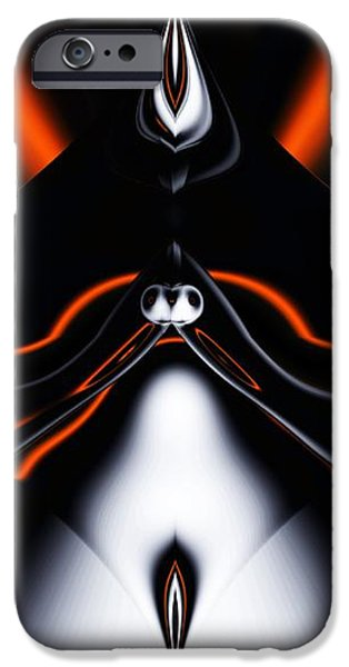 abstract 4-22-09 iPhone Case by David Lane