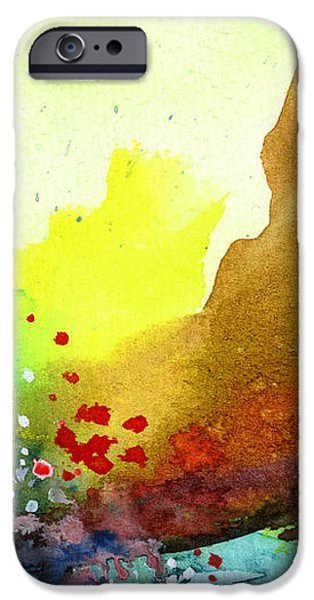 Abstract 5 iPhone Case by Anil Nene