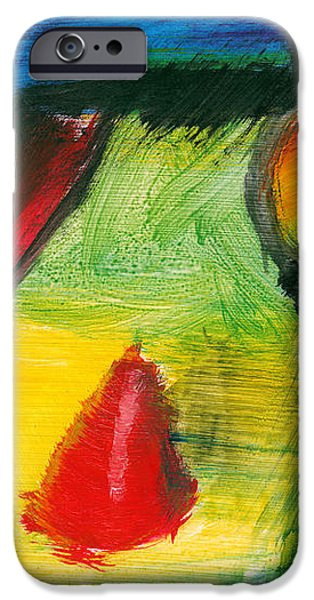 Abstract - Acrylic - Primitives iPhone Case by Mike Savad