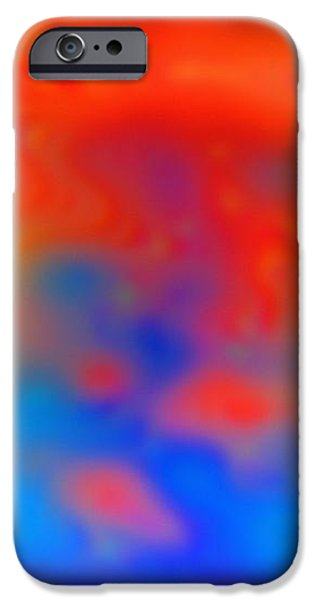 Abstract Artwork iPhone Case by Victor De Schwanberg