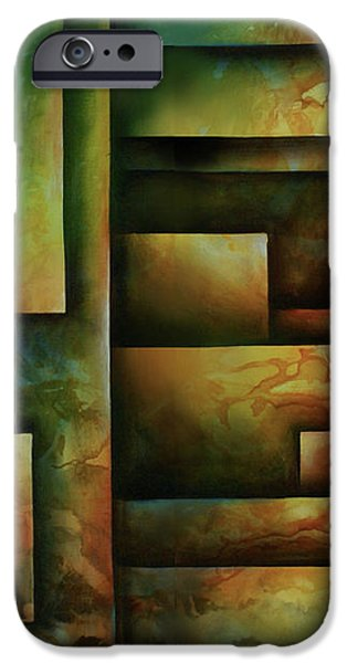 abstract design 102 iPhone Case by Michael Lang
