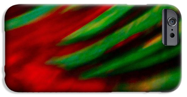 Photographs Mixed Media iPhone Cases - Abstract frolic iPhone Case by Gwyn Newcombe