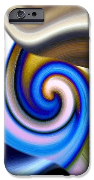 Abstract Digital Digital iPhone Cases - Abstract Fusion 114 iPhone Case by Will Borden