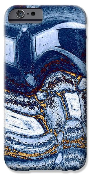 Abstract Digital Digital iPhone Cases - Abstract Fusion 137 iPhone Case by Will Borden