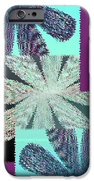 Abstract Digital Art iPhone Cases - Abstract Fusion 149 iPhone Case by Will Borden