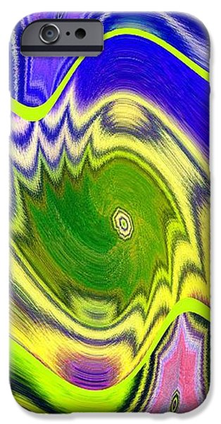 Abstract Digital Digital iPhone Cases - Abstract Fusion 157 iPhone Case by Will Borden