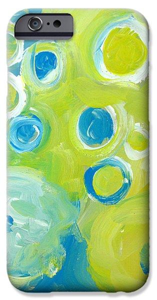 Abstract IIII iPhone Case by Patricia Awapara