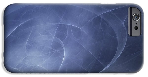 Cyberspace iPhone Cases - Abstract Illustration Of Motion iPhone Case by Vlad Gerasimov