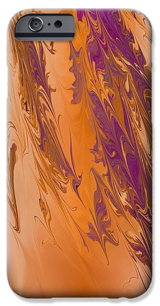 Abstract In July iPhone Case by Deborah Benoit