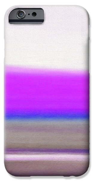 Abstract Sunset 65 iPhone Case by Gina De Gorna