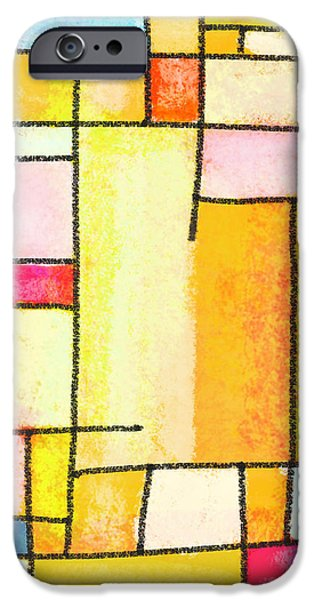 Abstract Town iPhone Case by Setsiri Silapasuwanchai