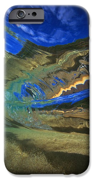 Vince iPhone Cases - Abstract Underwater View iPhone Case by Vince Cavataio - Printscapes
