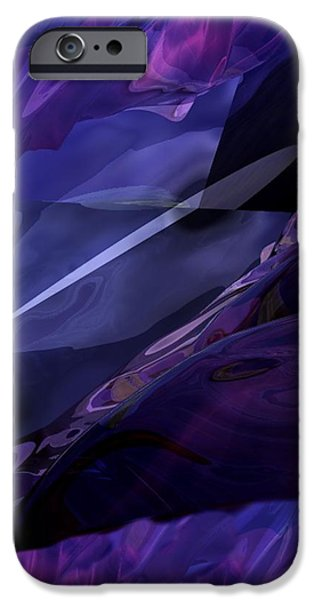 abstractbr6-1 iPhone Case by David Lane