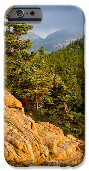 Acadian Mountains iPhone Case by Susan Cole Kelly