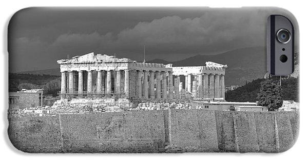 Acropolis iPhone Cases - Acropolis iPhone Case by Gabriela Insuratelu
