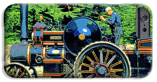 Machinery Mixed Media iPhone Cases - Activity iPhone Case by Dominic Piperata