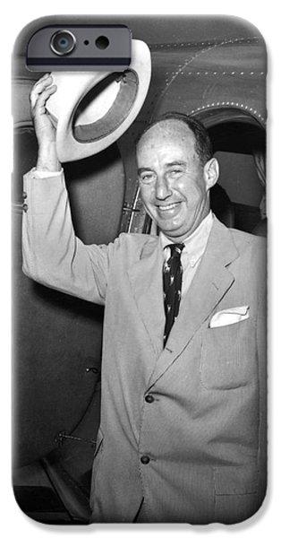 ADLAI STEVENSON (1900-1965) iPhone Case by Granger