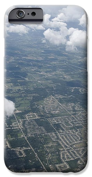 Aerial View of Landscape iPhone Case by Shannon Fagan
