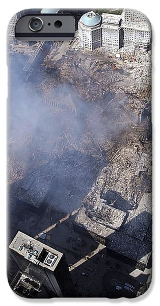 Aerial View Of The Destruction Where iPhone Case by Stocktrek Images
