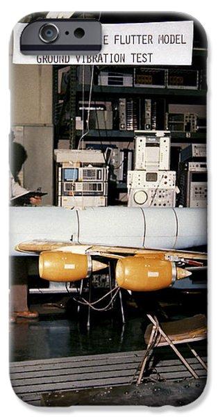 Aflutter Model Of A Kc-135 Stratotanker iPhone Case by Stocktrek Images