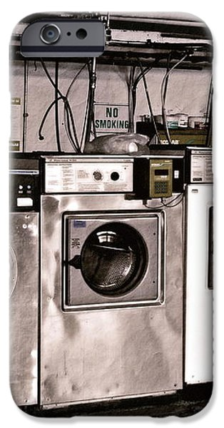 After Enlightenment The Laundry. iPhone Case by Gwyn Newcombe