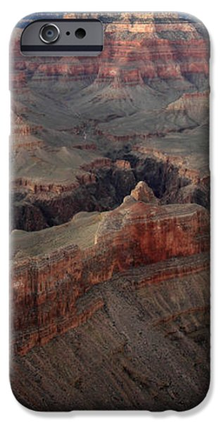 After sunset colors in the Grand Canyon iPhone Case by Pierre Leclerc Photography