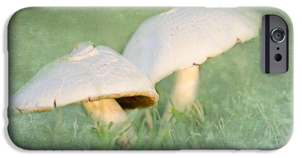 Mushroom Digital Art iPhone Cases - After the Rain iPhone Case by Betty LaRue