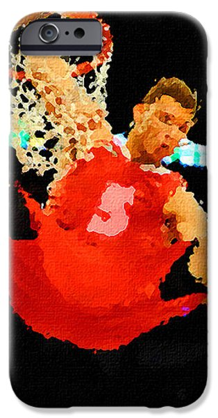 After the Slam Dunk iPhone Case by Anthony Caruso