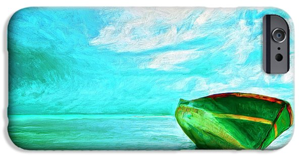 Boat iPhone Cases - After the Storm iPhone Case by Dominic Piperata