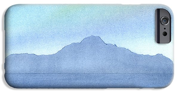 Reflection Pastels iPhone Cases - Afternoon on the Water iPhone Case by Hakon Soreide
