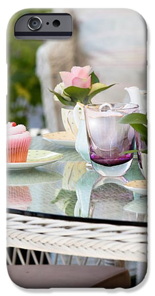 Afternoon tea and cakes iPhone Case by Simon Bratt Photography LRPS