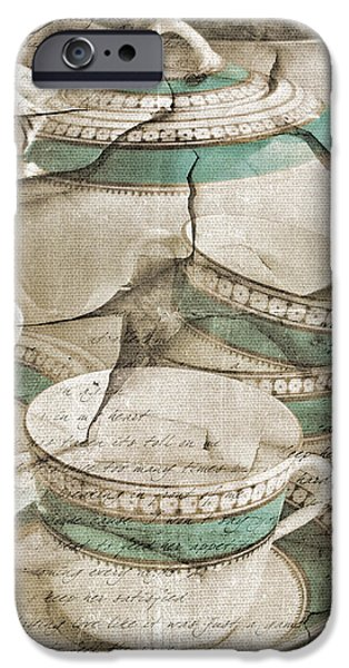 Tea Party Photographs iPhone Cases - Afternoon Tea iPhone Case by Marcie  Adams